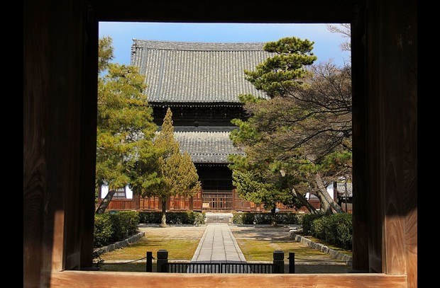 Kenninji, the Zen Temple immediately next door