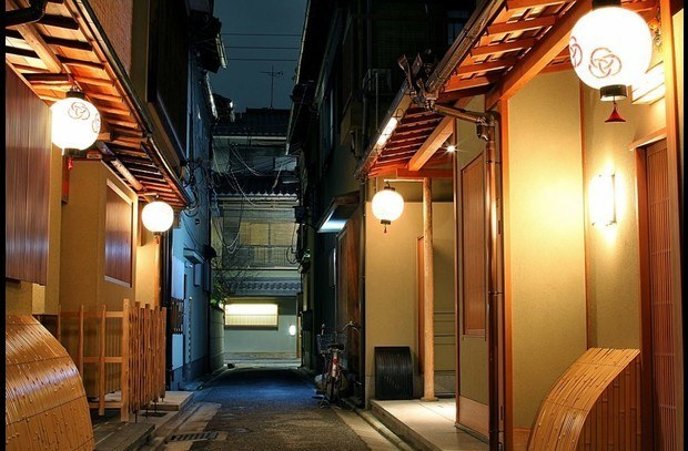 An alley in nearby Miyagawa-cho